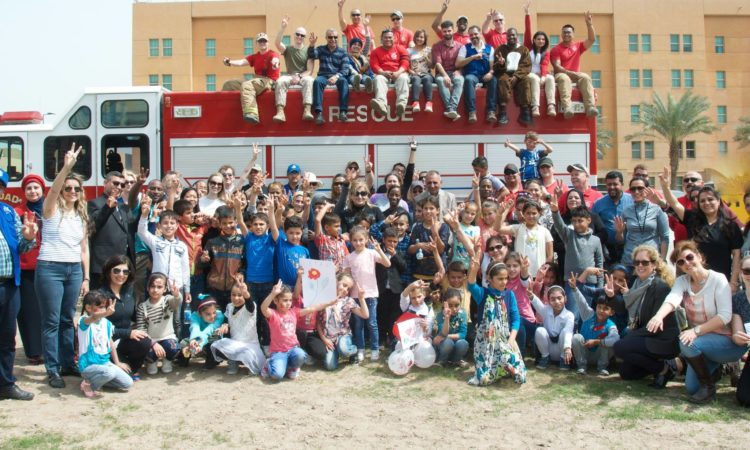 The U.S. Embassy in Baghdad recently hosted an event for IDP children