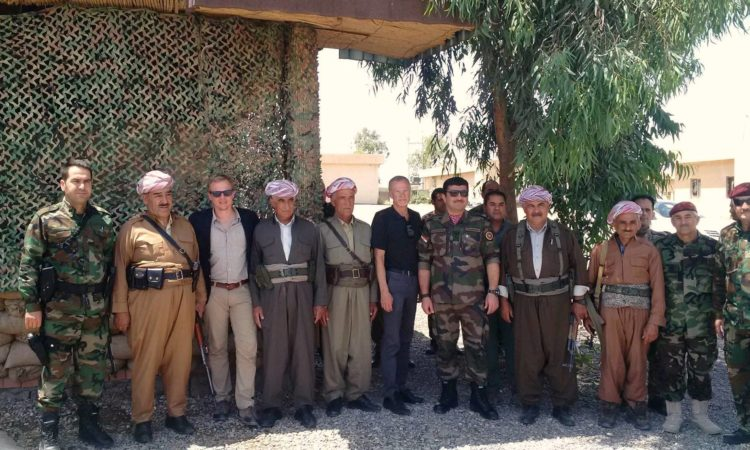 Consul General Gross Visits Peshmerga